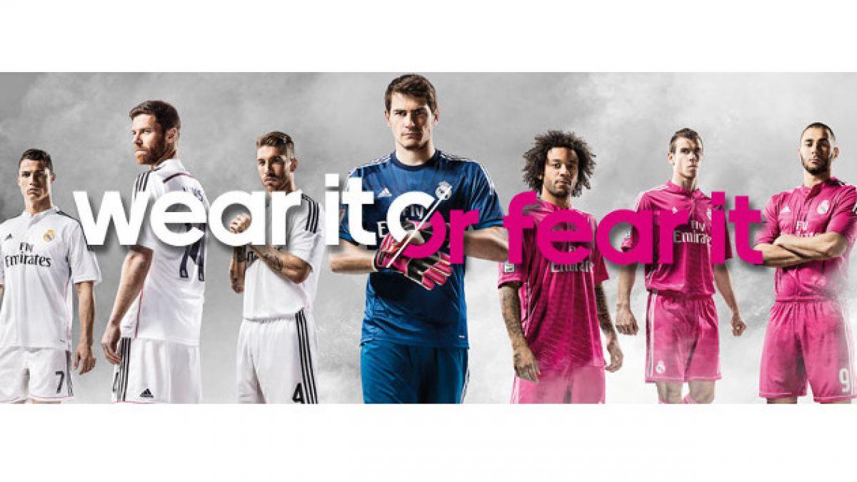 Estas son las nuevas camisetas del Real Madrid