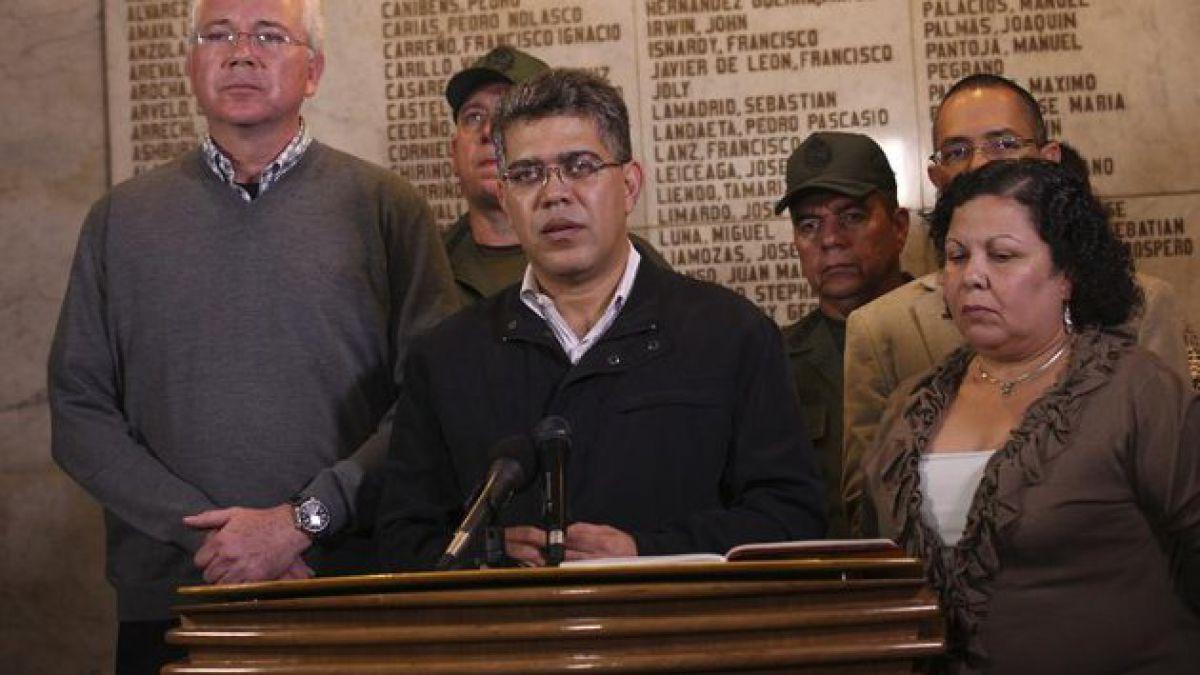 "Canciller Jaua: ""Hugo Chávez logró revertir la historia"""