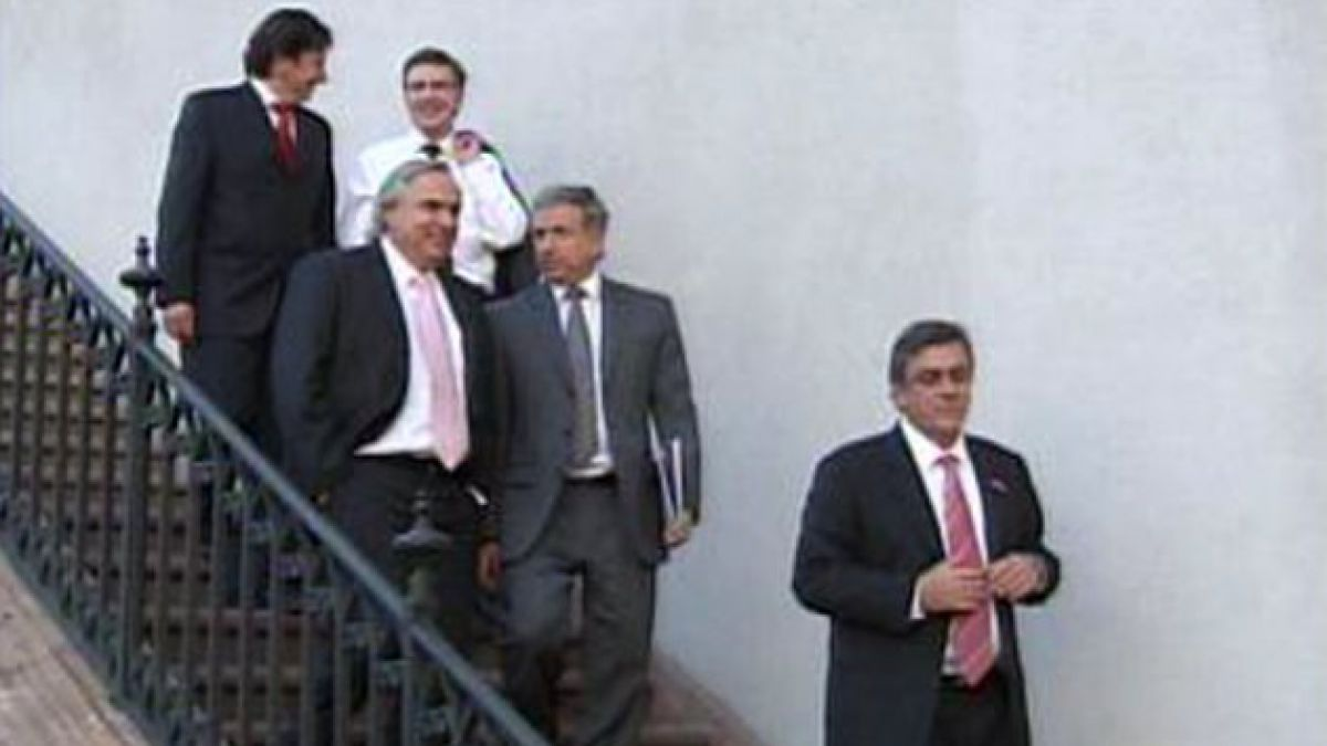 Ministros presidenciables se reunieron con Presidente Piñera