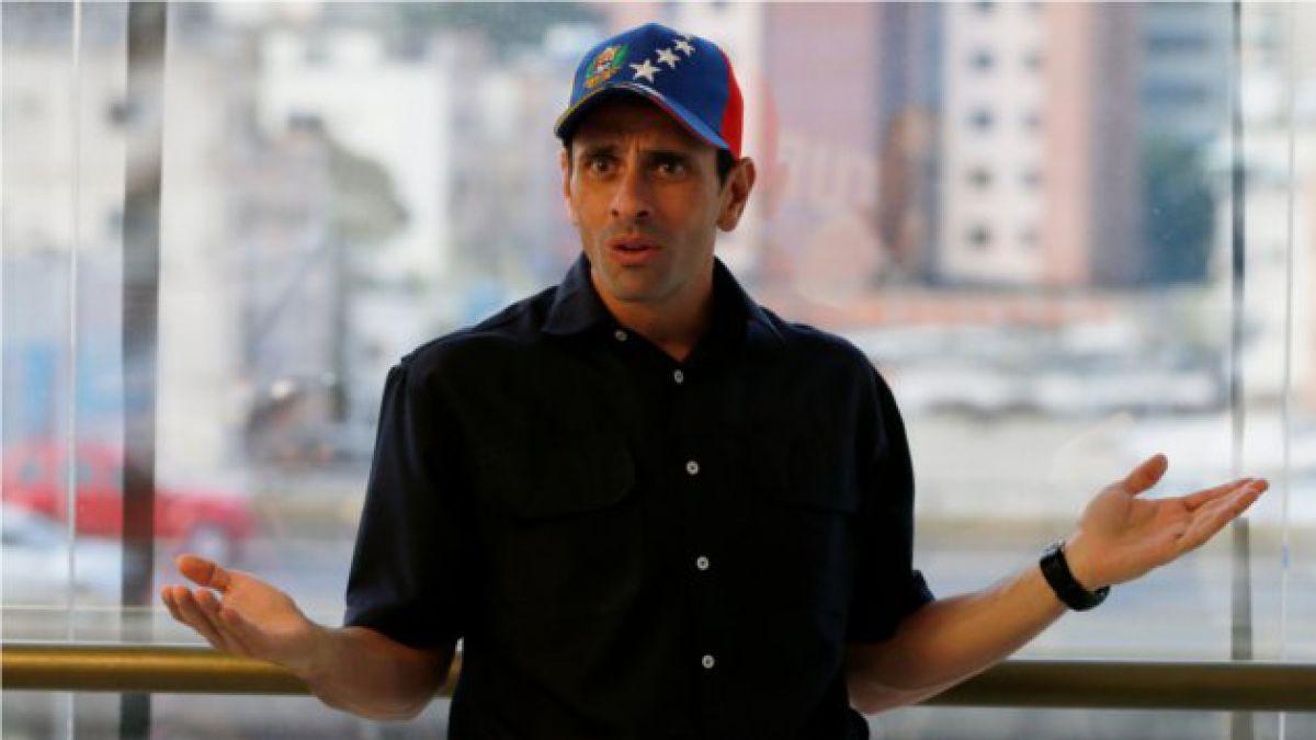 Capriles compara a Bachelet con Pinochet y critica silencio por uso de la fuerza en Venezuela