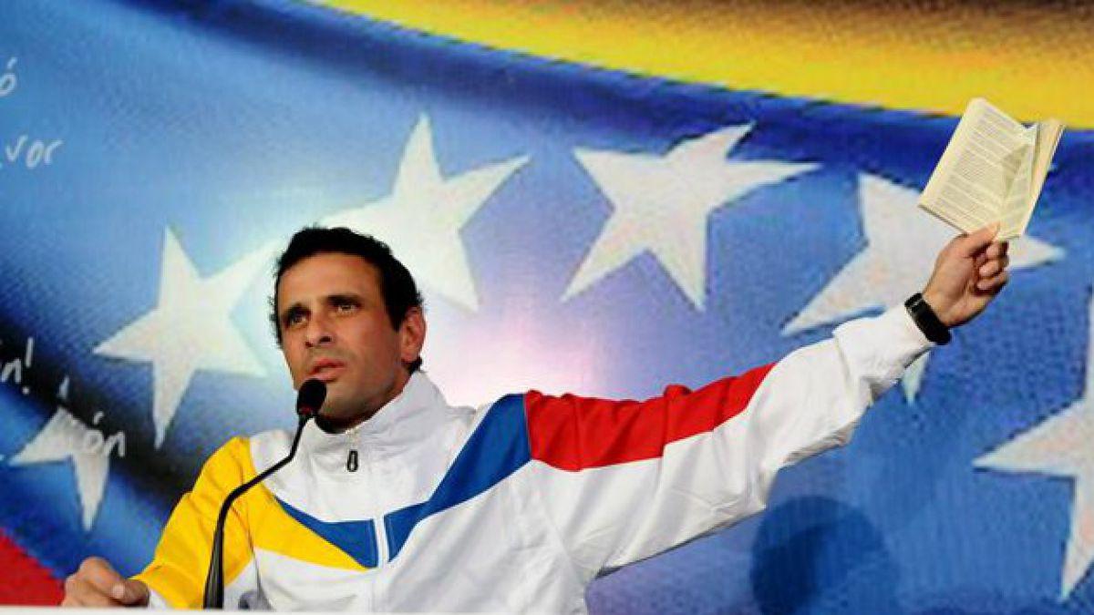 [T13 en Venezuela] Capriles critica resultado y pide recontar votos
