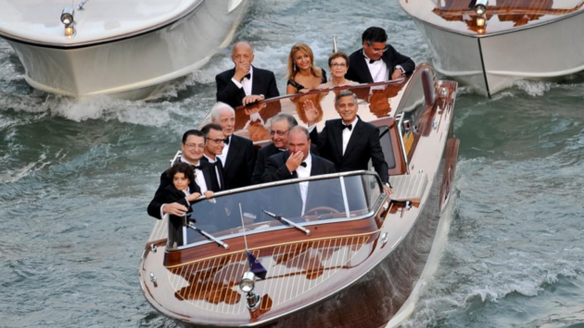 [FOTOS] Desde Bono hasta Cindy Crawford: Los invitados a la boda de George Clooney
