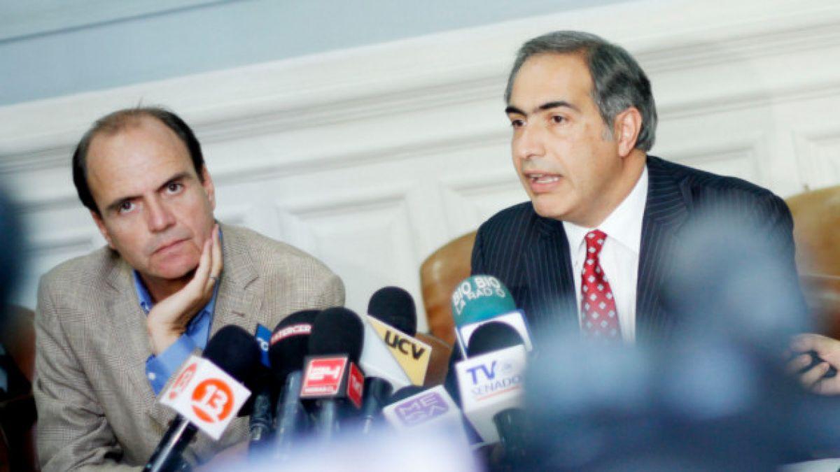Francisco Chahuán baja su candidatura a la presidencia de RN