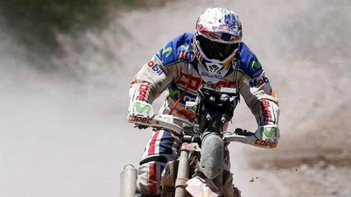Confirman retiro de Chaleco López del Dakar 2014