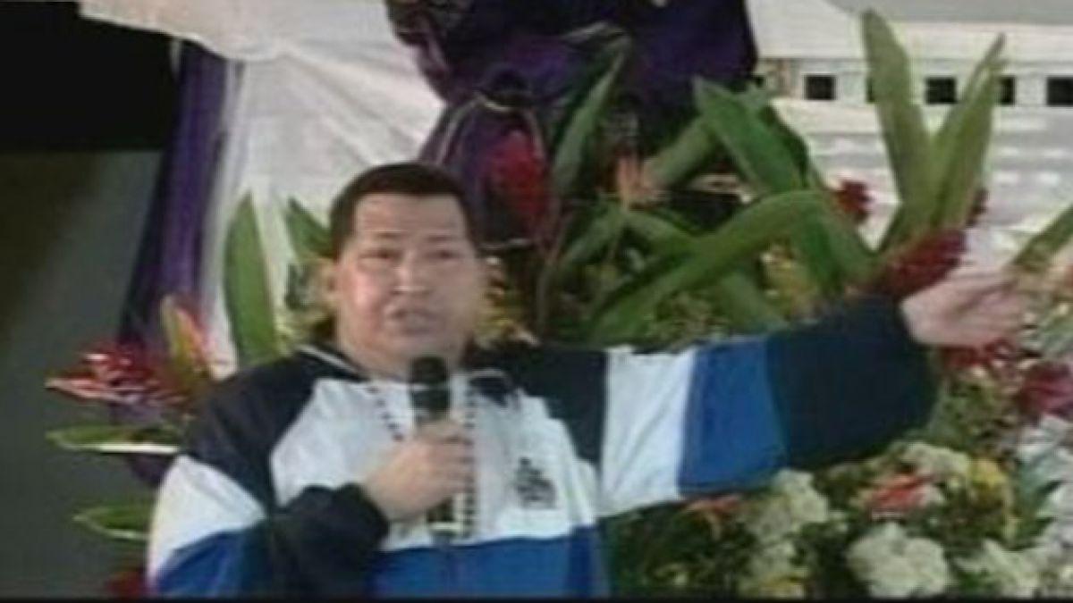 Chávez pidió a Dios por su Salud