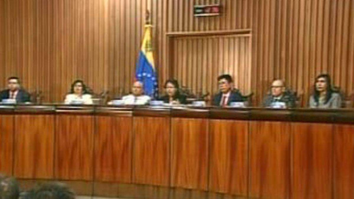 Oposición venezolana denuncia nula autonomía de poderes del Estado