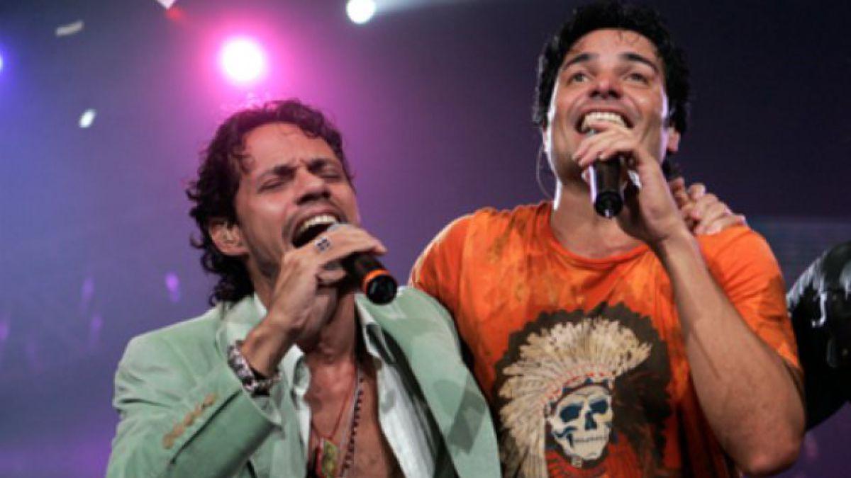 Chayanne, Marc Anthony y Marco Antonio Solís actuarán juntos en EE.UU.