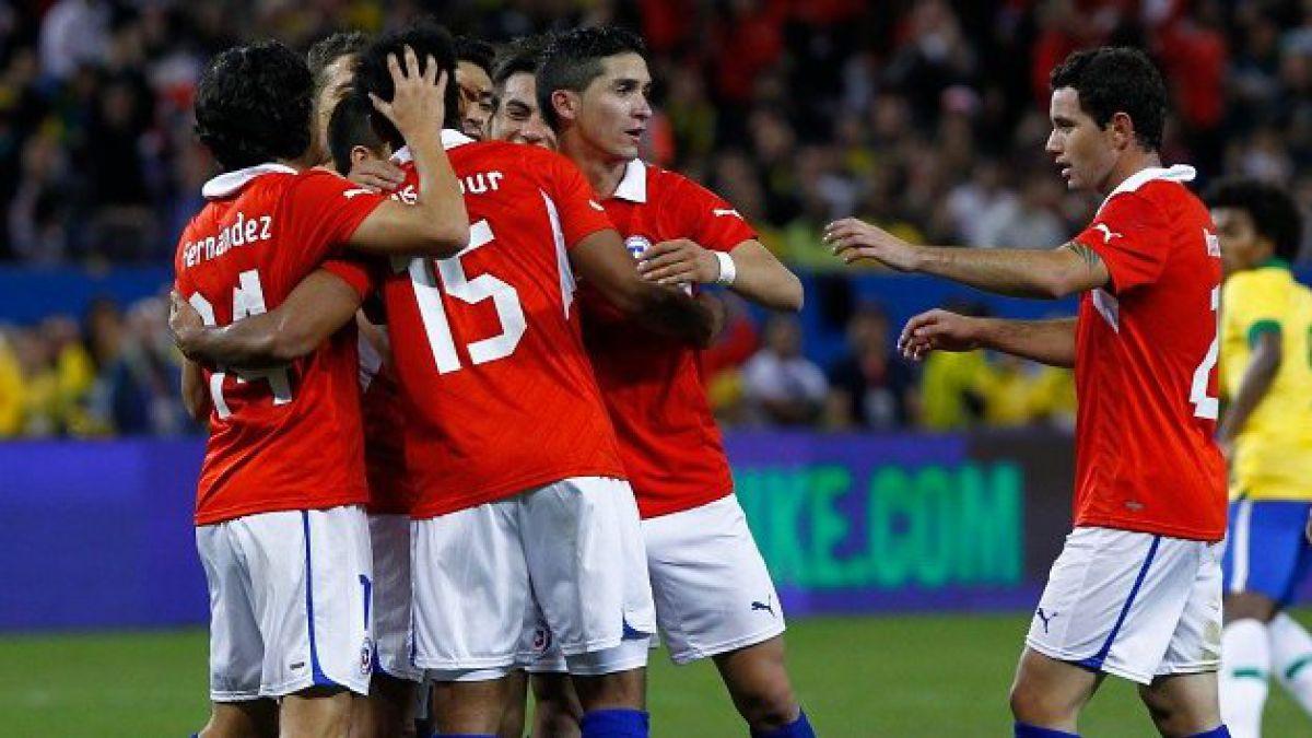 La Roja cierra nuevo amistoso preparatorio para Brasil 2014