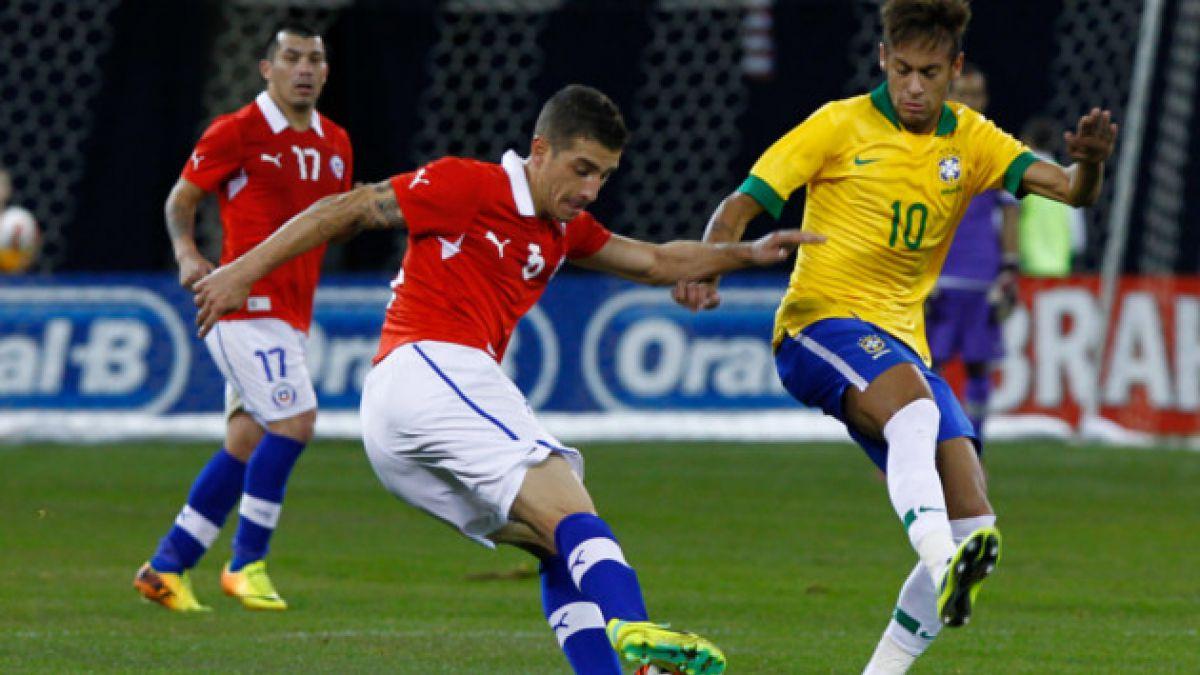 El frente a frente de Chile y Brasil