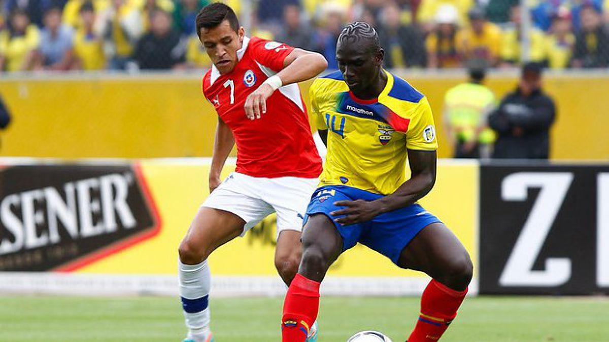 Este martes comienza venta de entradas para duelo Chile-Ecuador