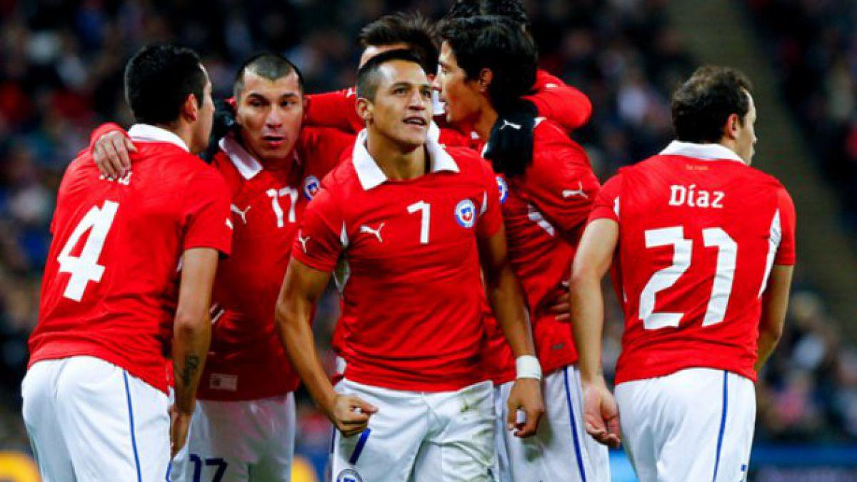 Chile repitió la historia y venció a Inglaterra en Wembley