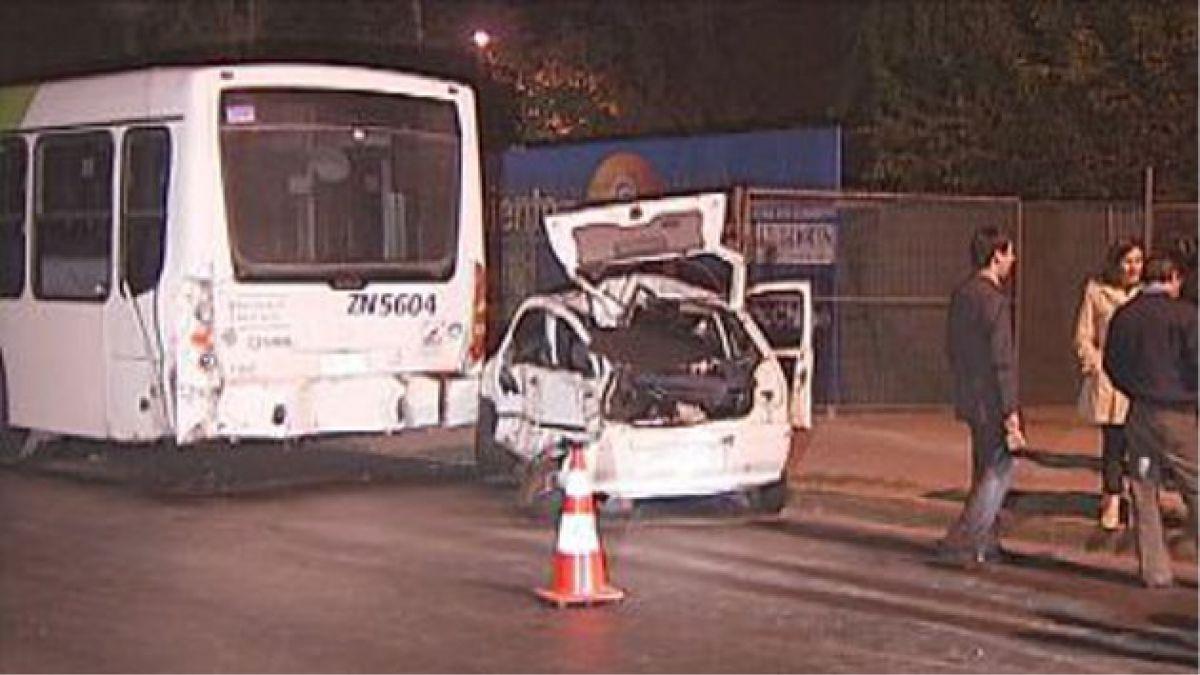 Robo frustrado a cajero automático termina en accidente de tránsito y 3 detenidos en la capital