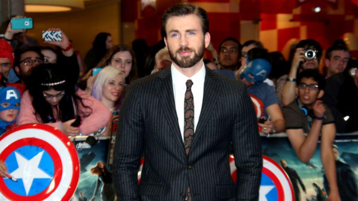 Chris Evans afirma que dejará de actuar cuando acabe su contrato con Marvel