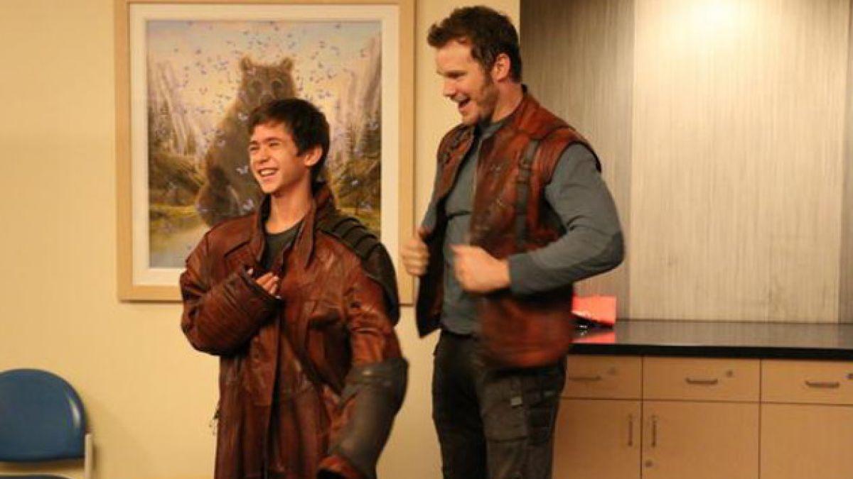 El gesto del actor Chris Pratt que alegró a los niños de un hospital en EE.UU.