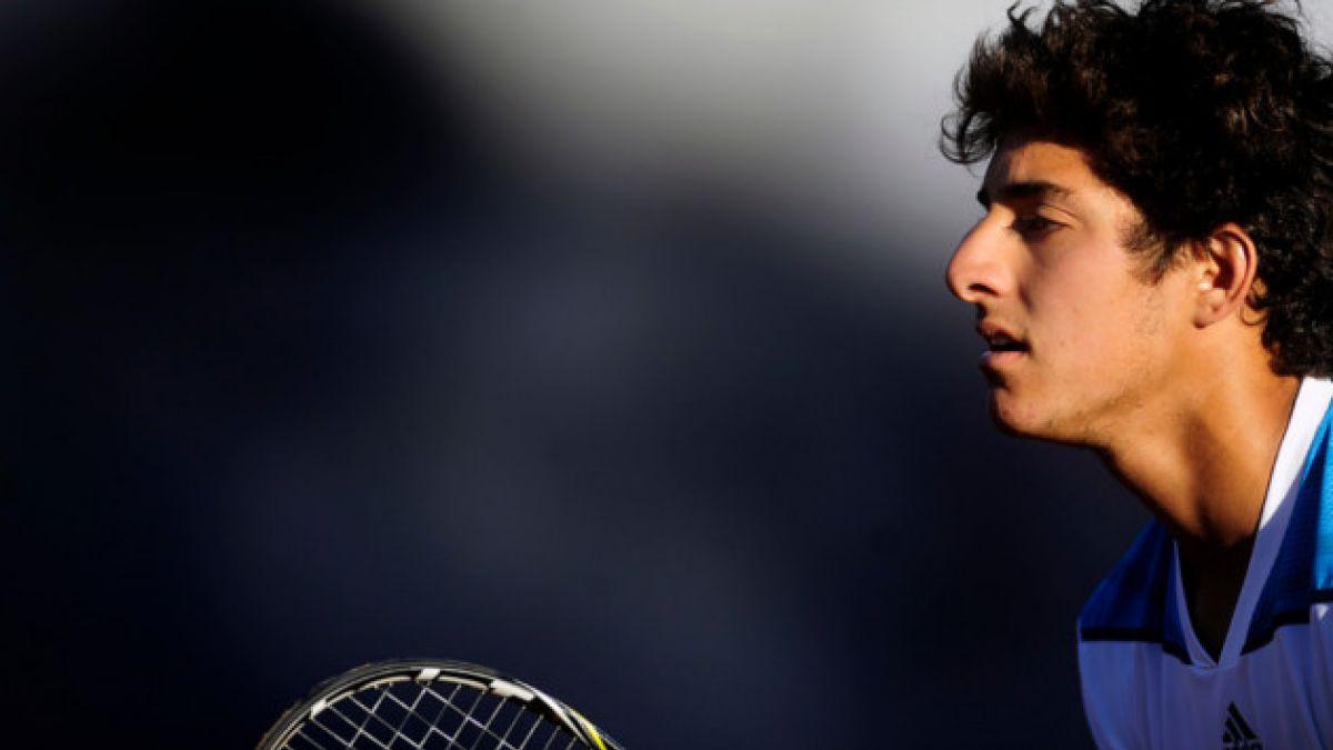 Christian Garín se despidió del Abierto de Australia Junior