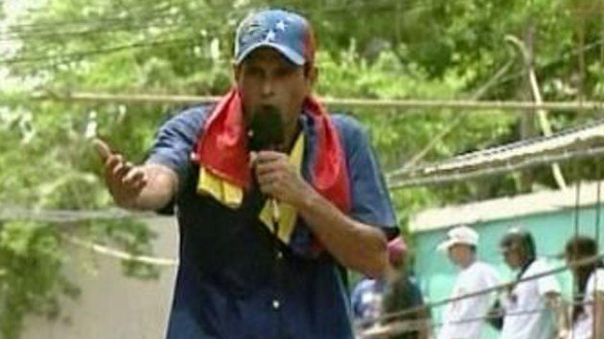 Capriles en cierre de campaña: que nadie se quede sin votar