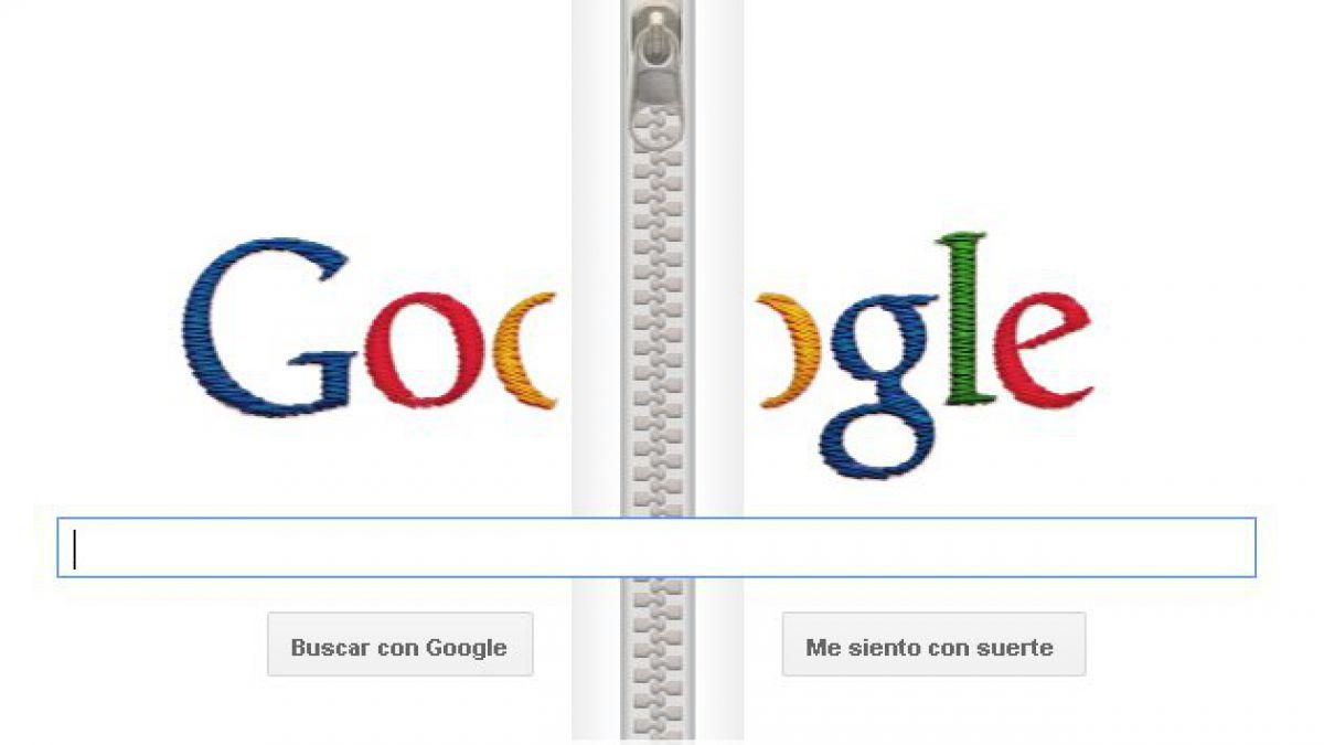 Google homenajea a creador de la cremallera