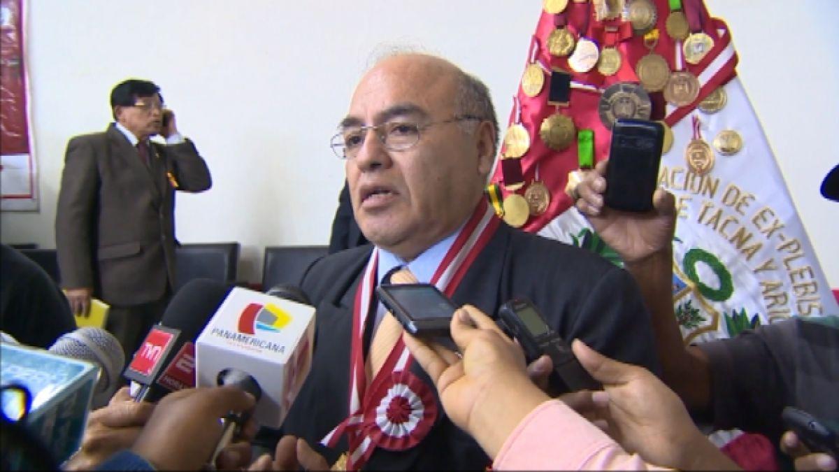 Organizador de marcha peruana dice que si hay minas en la zona sería responsabilidad de ambos gobier