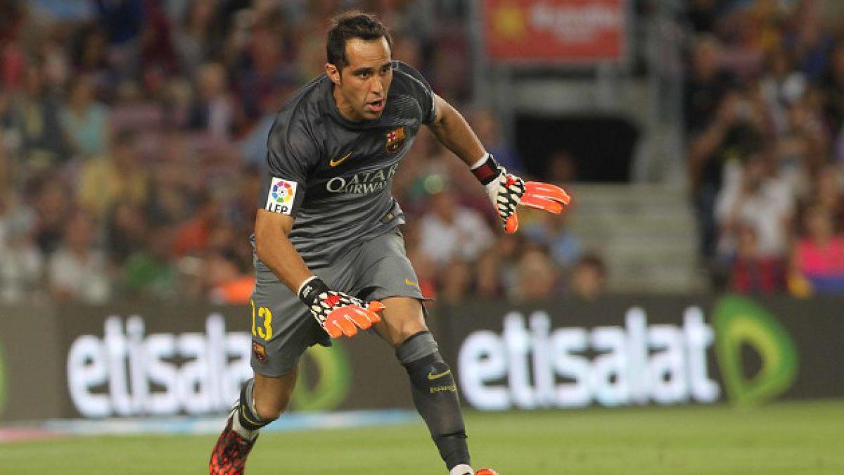 FC Barcelona confirma que Claudio Bravo ocupará el número 13 en su camiseta