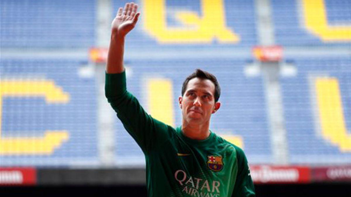 Arquero récord de FC Barcelona: Ojalá Claudio me supere
