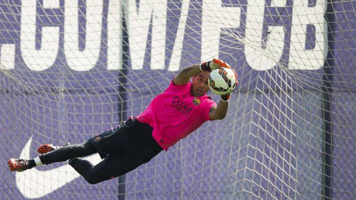 Qué come Claudio Bravo para recuperar energías tras los partidos de FC Barcelona