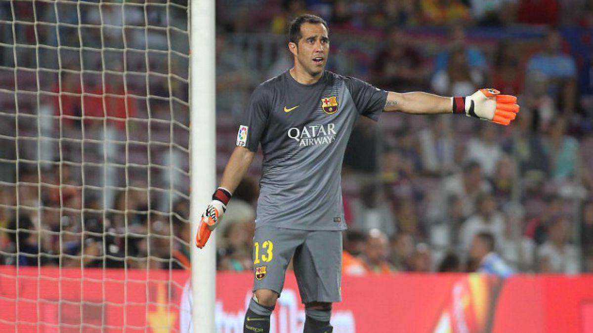 Confirmado: Claudio Bravo será titular ante Málaga