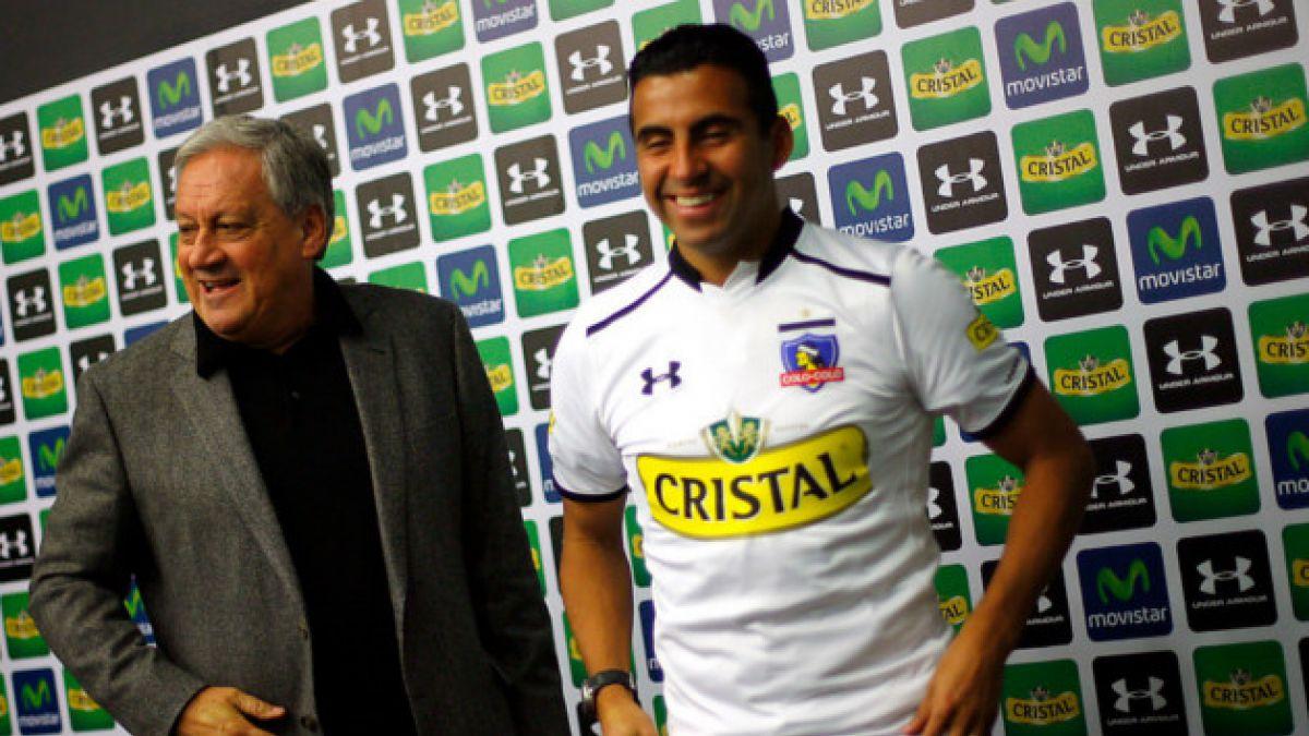"""Maldonado y escasez de refuerzos en Colo Colo: """"A veces es mejor contratar poco, pero bien"""""""