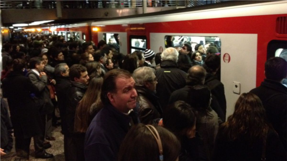 El historial de incidentes del Metro en los últimos tres meses