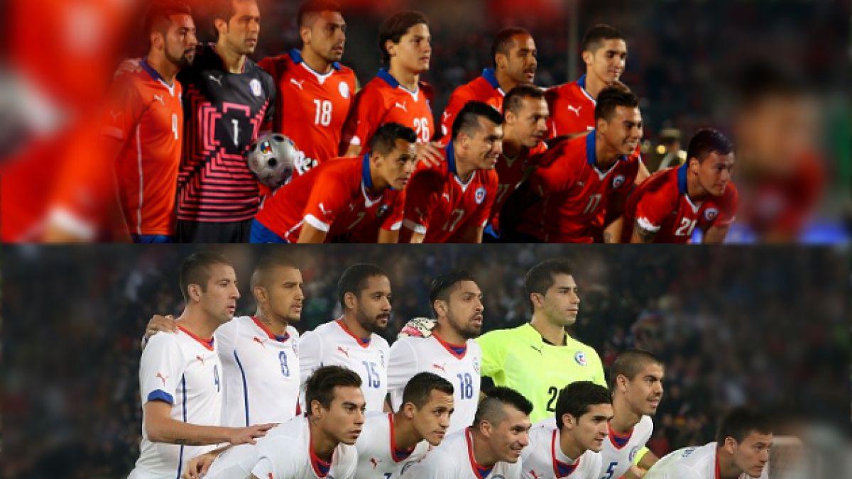 Los colores que vestirá Chile en la primera ronda del Mundial