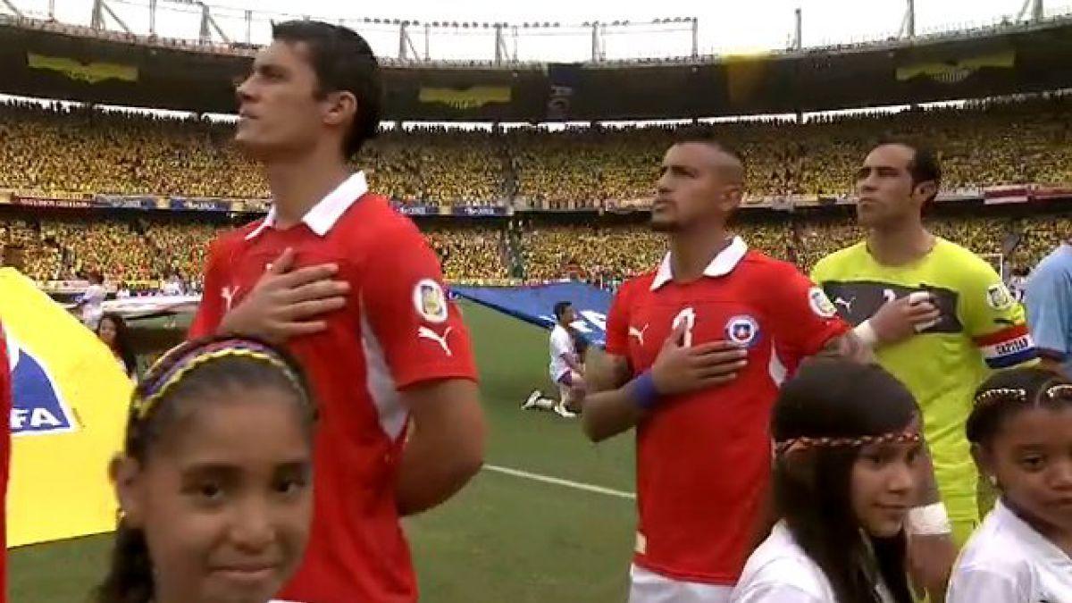 Chile enfrenta a Colombia por cupo en Mundial de Brasil