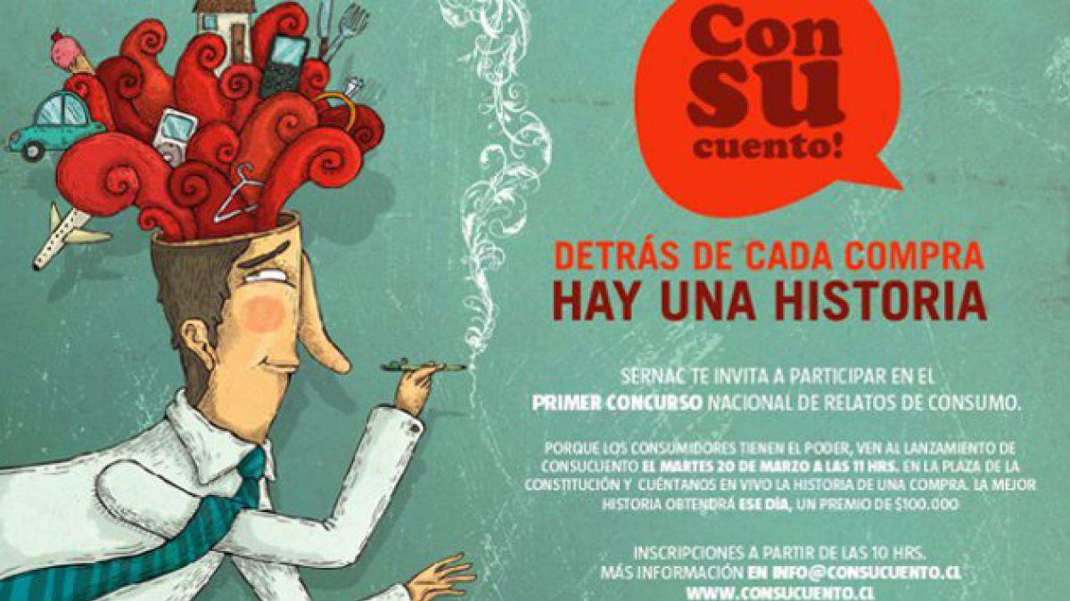 El Sernac lanza concurso de relatos Consucuento