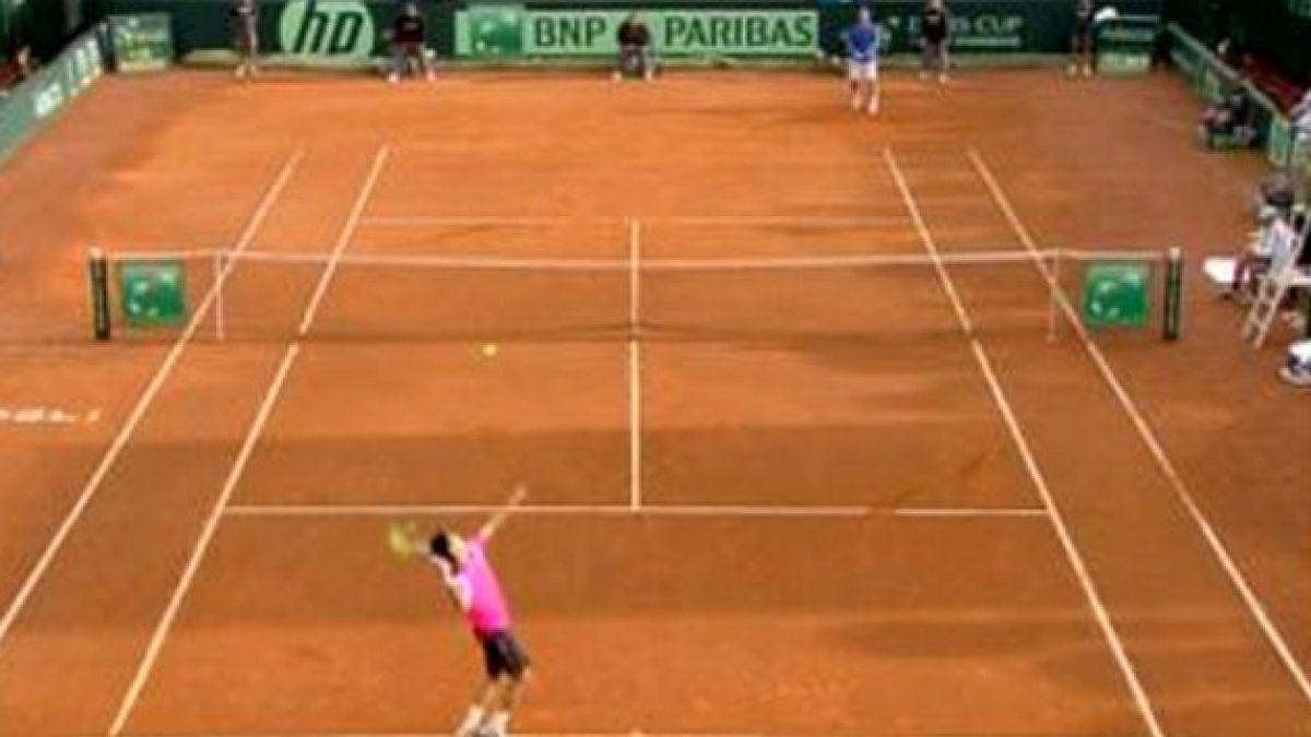 Copa Davis: Complicado panorama de Chile ante Italia