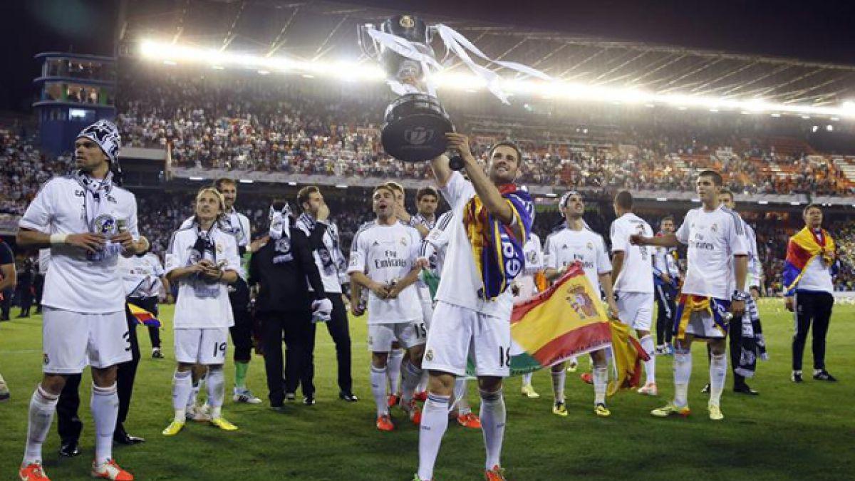 Real Madrid se corona campeón de la Copa del Rey tras vencer a FC Barcelona
