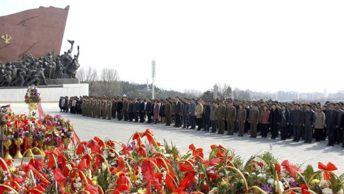 Corea del Norte celebra aniversario de su fundador