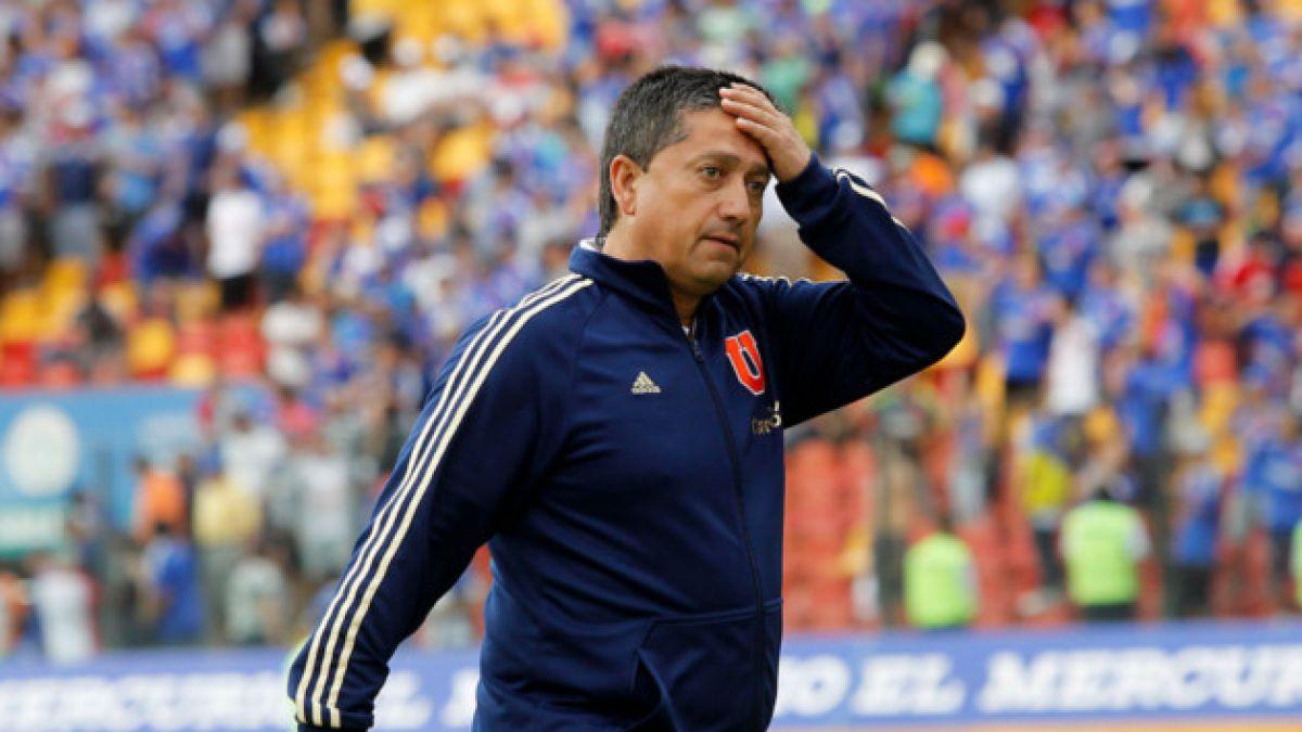 Relojito se despide del primer equipo de la U con un duro mea culpa