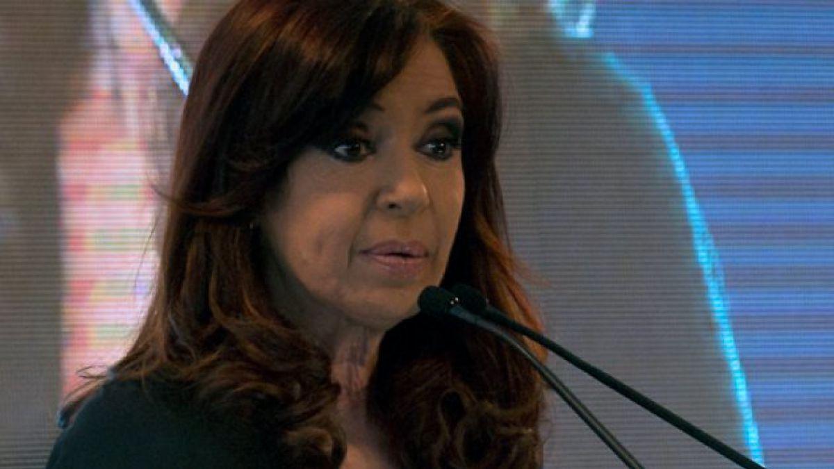 Cristina Fernández continúa en evolución favorable