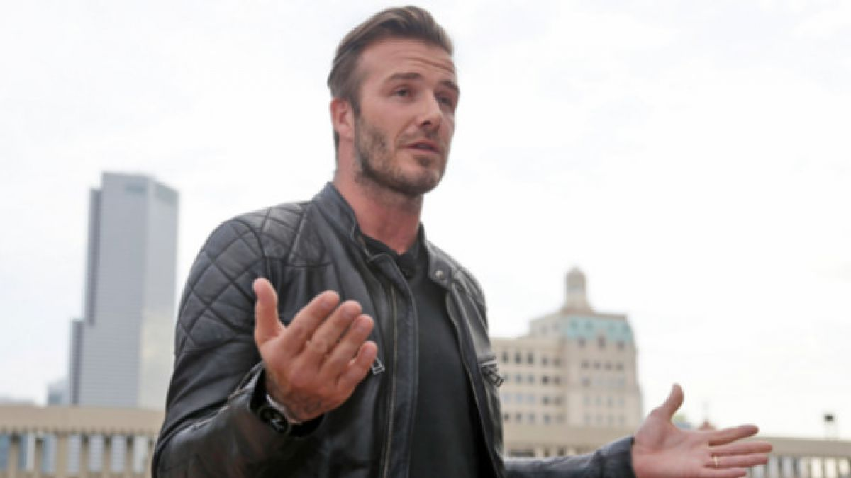David Beckham sufre accidente en moto en Los Ángeles