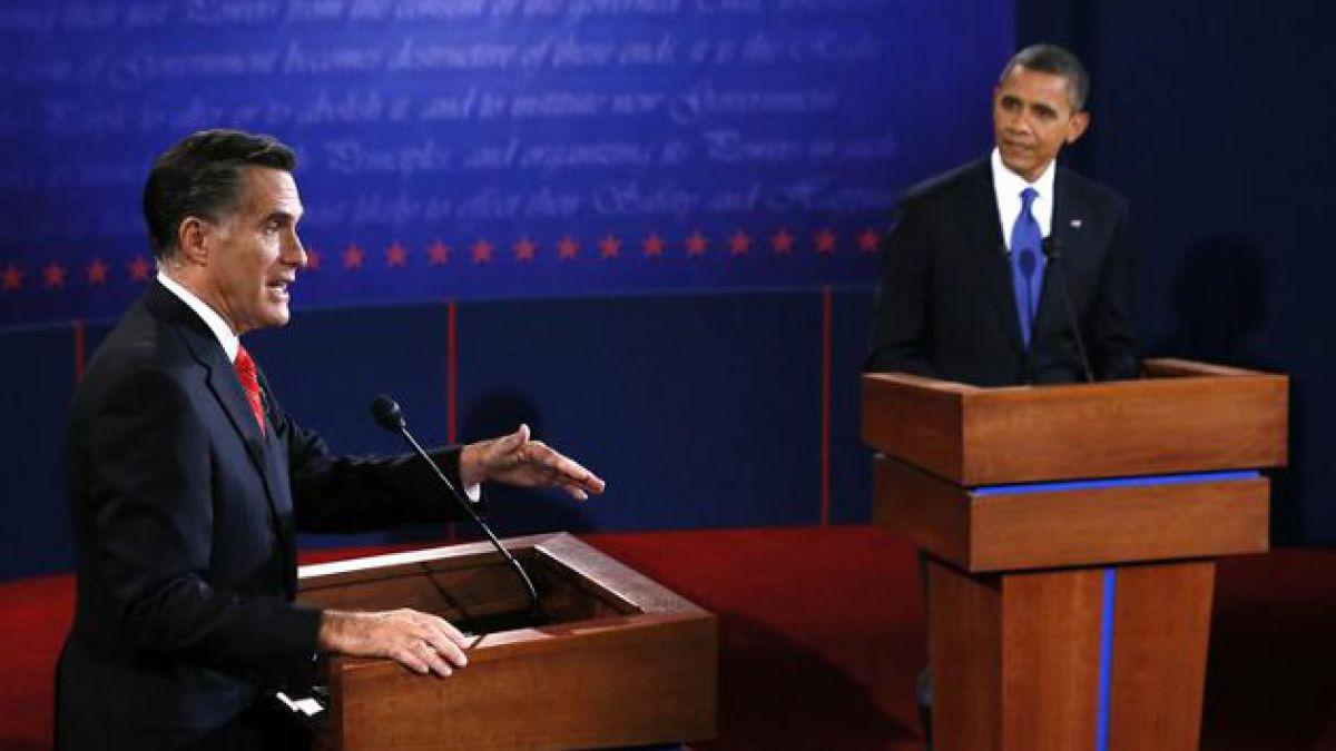 Economía y Salud marcaron el primer debate entre Obama y Romney