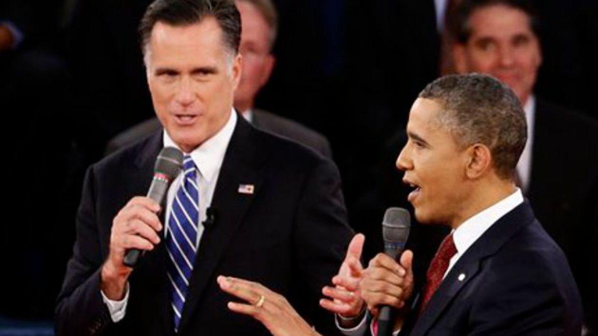 Acalorado segundo debate entre Obama y Romney
