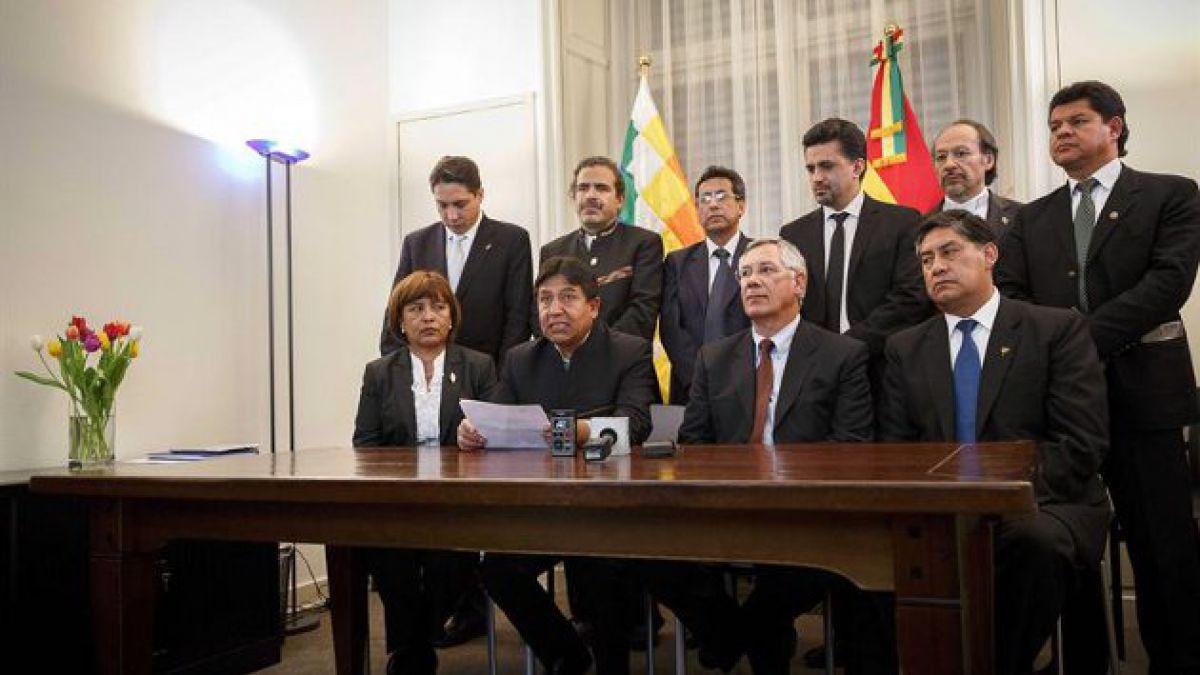 Se esperan reacciones tras acogida de demanda boliviana en La Haya