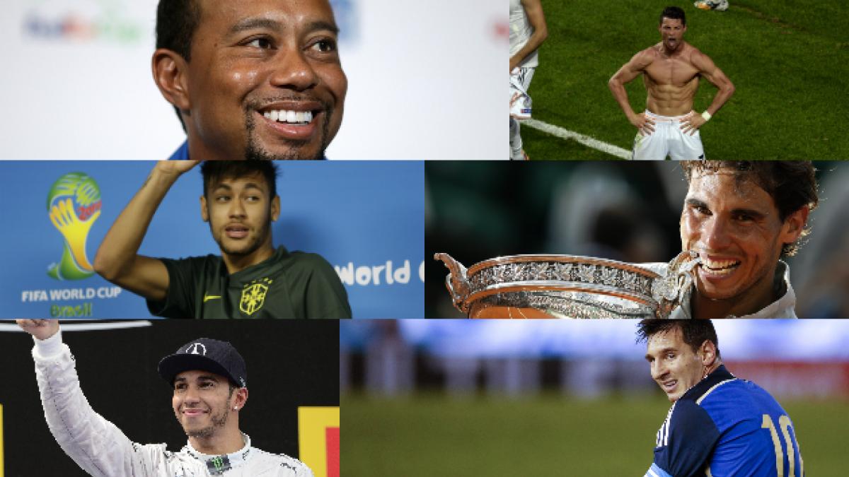 Estos son los 20 deportistas mejor pagados del mundo, según Forbes