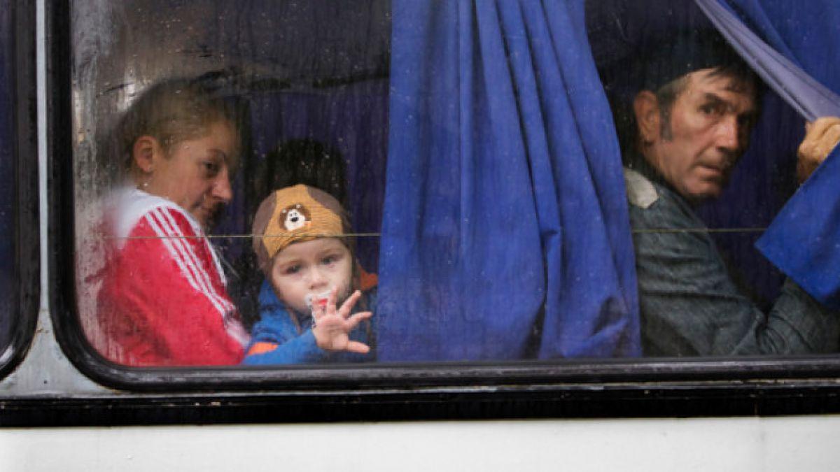 A 260 mil aumenta número de desplazados en Ucrania por combates