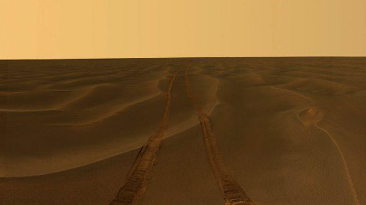 Exponen las mejores fotografías de la superficie de Marte