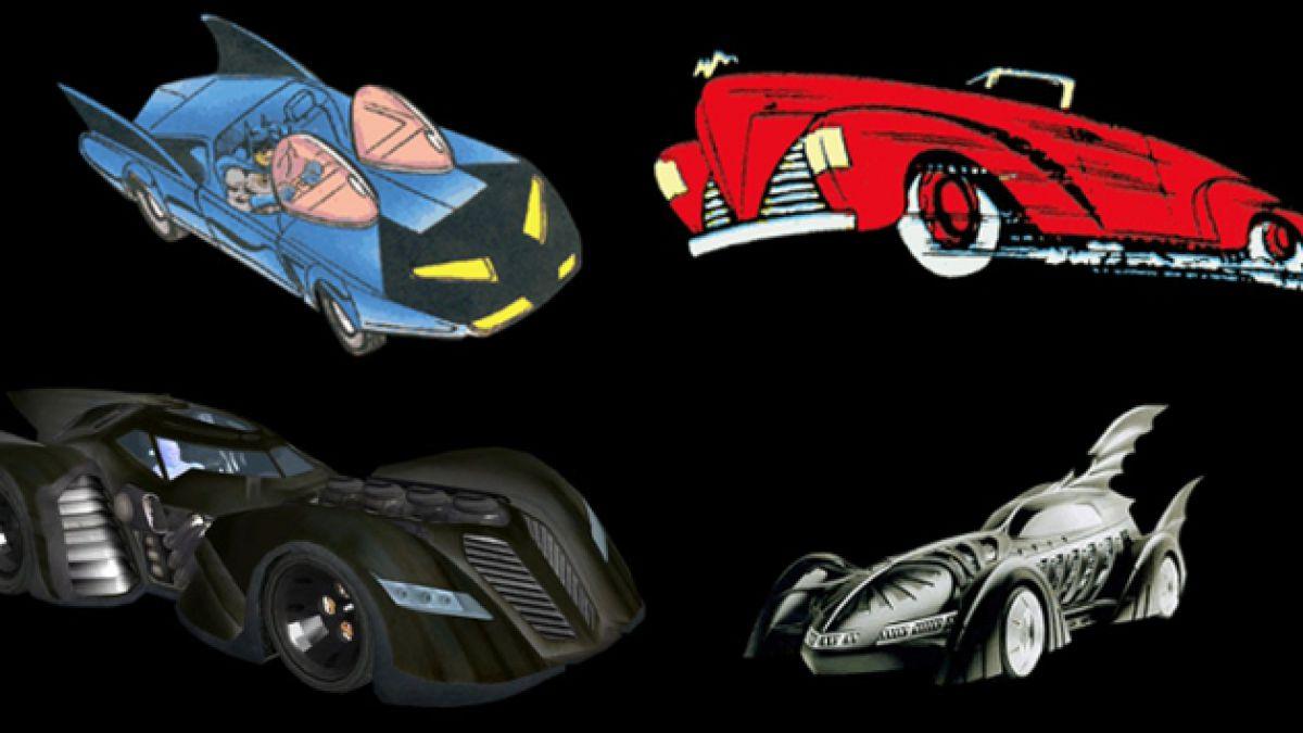 12 modelos que muestran la evolución del Batimóvil