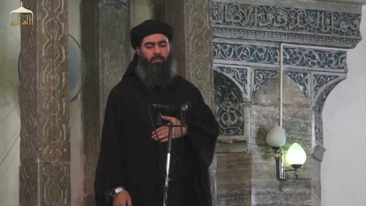 [VIDEO] La comentada primera aparición pública del líder de ISIS