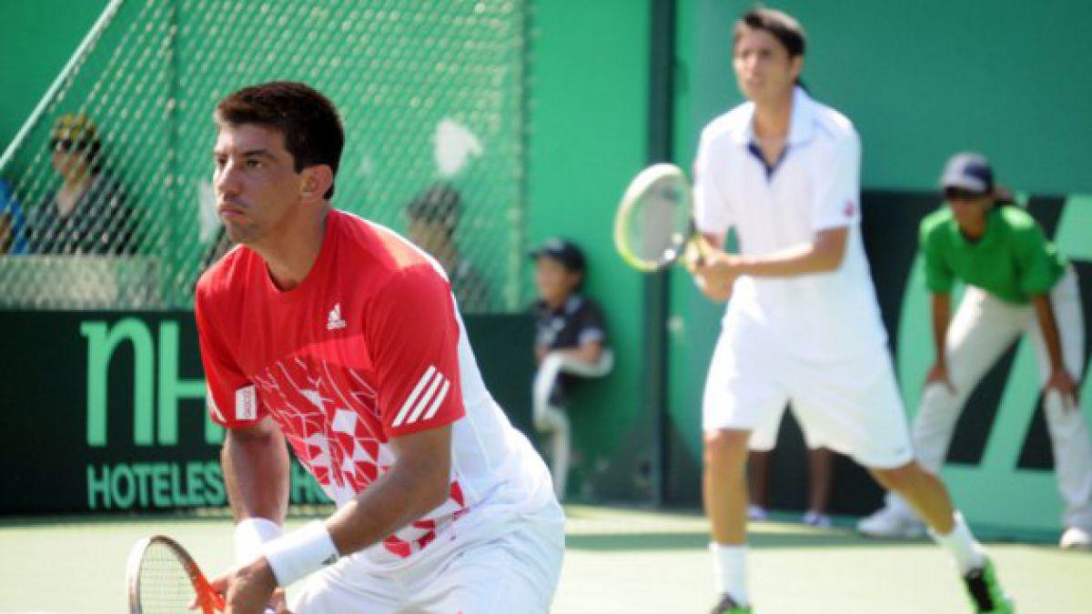 Chile consigue segundo punto al ganar dobles en Copa Davis