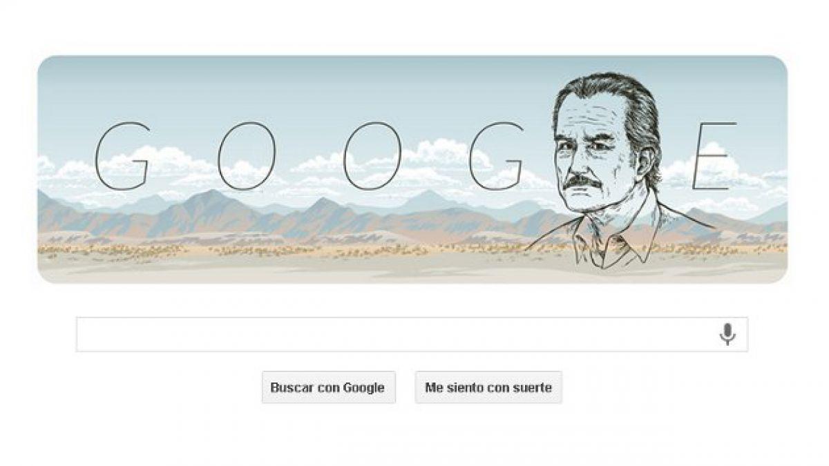 Doodle de Google homenajea a escritor Carlos Fuentes