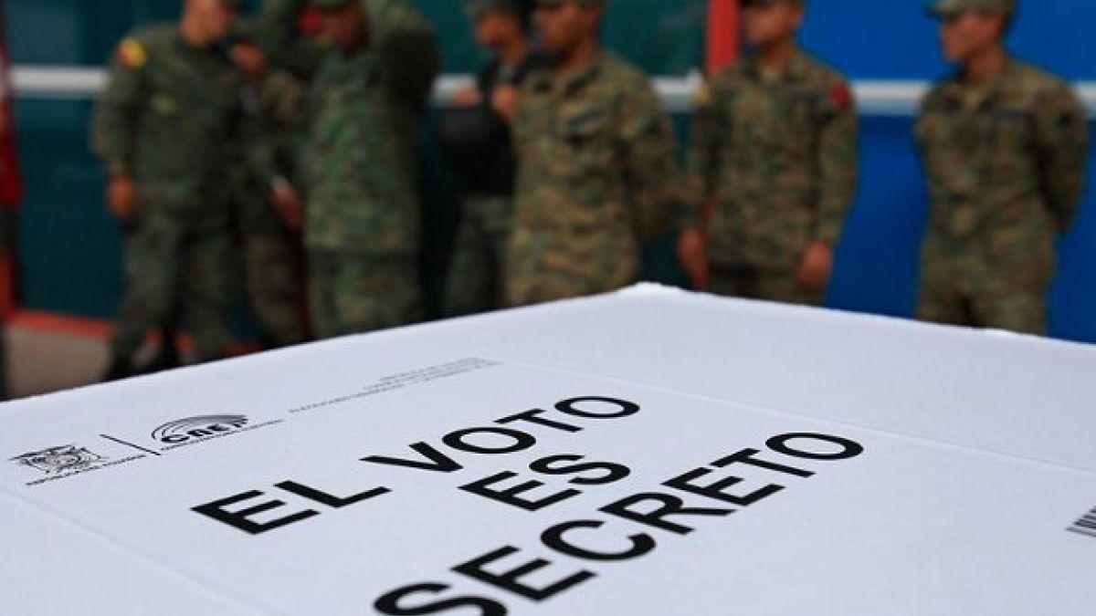 Tranquila jornada de votación en Ecuador