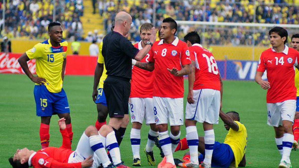 [Eliminatorias] Chile cayó ante Ecuador y complica sus opciones