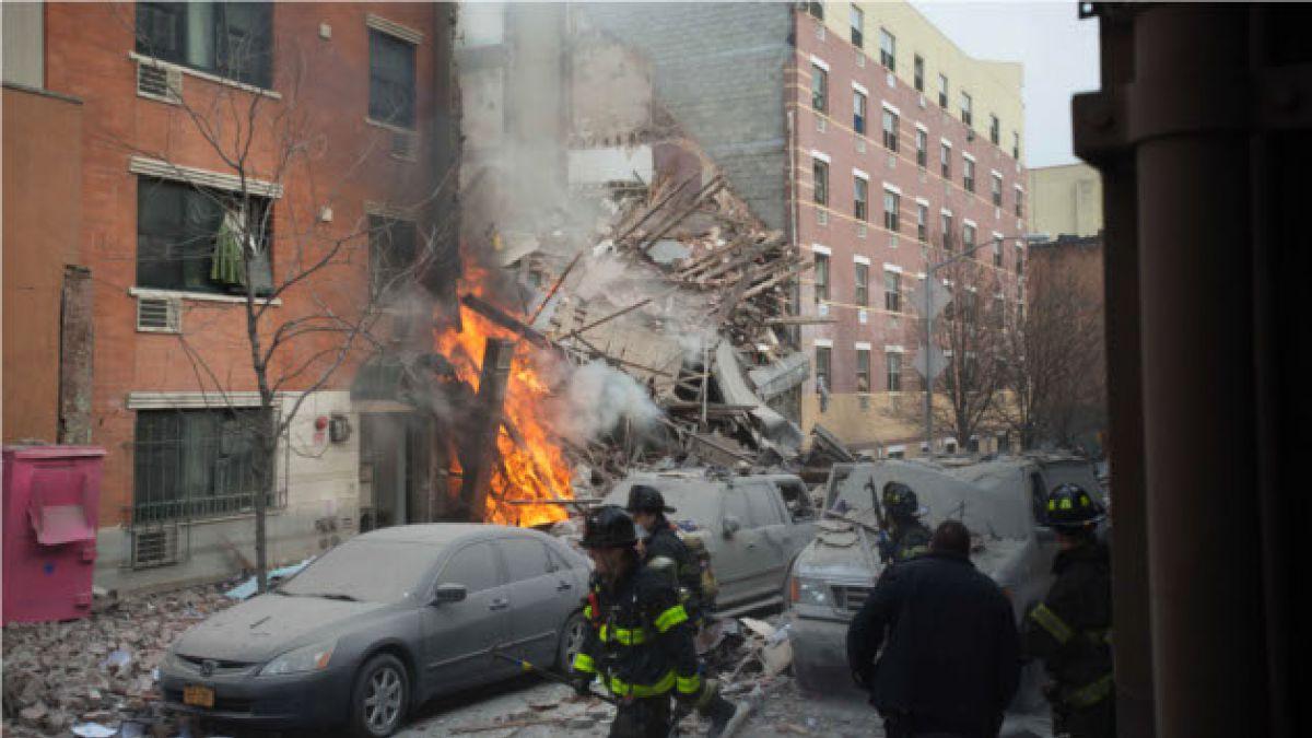Minuto a minuto: Explosión y derrumbe de dos edificios en Nueva York